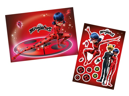 Kit Decorativo Miraculous Ladybug - Regina