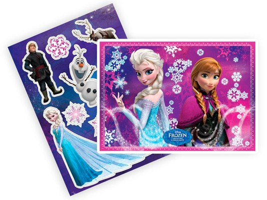 Kit Decorativo Frozen - Regina