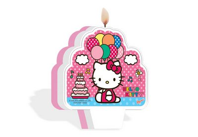 Vela Plana Hello Kitty - Regina
