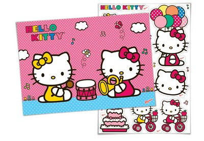 Kit Decorativo Hello Kitty -  Regina