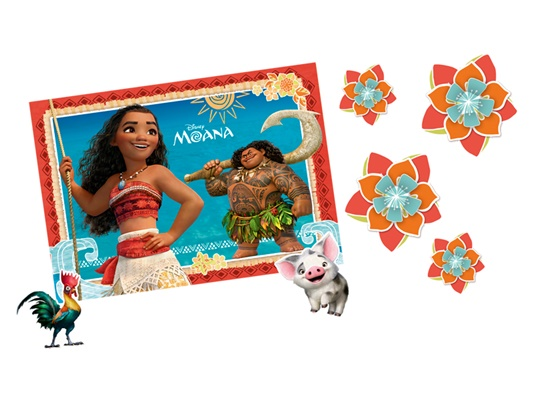Kit Decorativo Moana - Regina