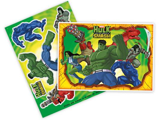 Kit Decorativo Hulk Smash - Regina