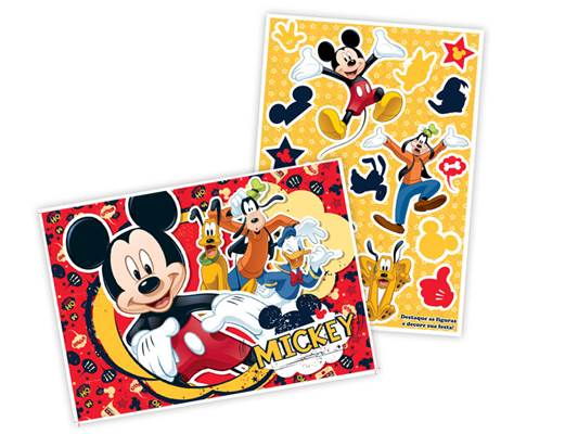 Kit Decorativo Mickey Mouse Clássico - Regina
