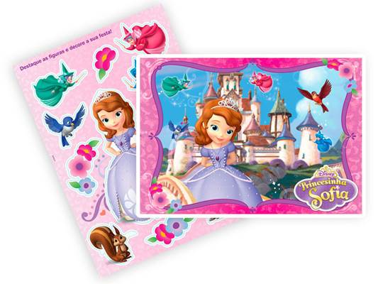 Kit Decorativo Princesa Sofia The First - Regina